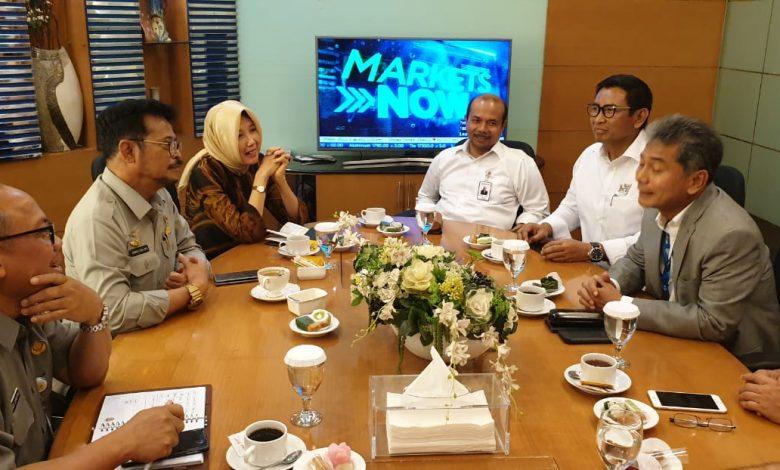 Photo of Mentan Syahrul Ajak BRI Kolaborasi Majukan Pertanian