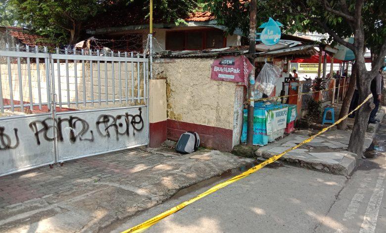 Photo of Tas Diduga Bom Diletakkan Disamping Gereja Bethel Pancoran Mas Depok