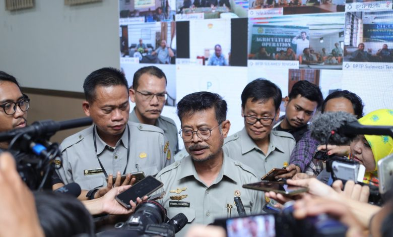 Photo of Di War Room Agriculture, Mentan Syahrul Menyapa Unit Kerjanya di Seluruh Indonesia