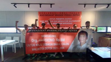 Photo of Mamapede Dukung Hardiono jadi Calon Wali Kota Depok