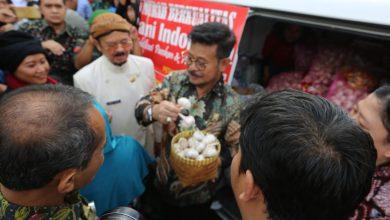 Photo of Mentan Syahrul Operasi Pasar Bawang Putih dan Cabai di Solo