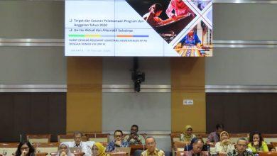 Photo of Nur Azizah Tamhid  Berbagi Pengalaman Tangani Kasus Perempuan dan Anak Saat Rapat Dengan Komisi VIII