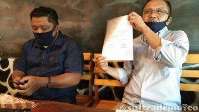 Photo of Diduga Korupsi,DPD Nasdem Laporkan  Bupati Konut Ke  Polda Sultra