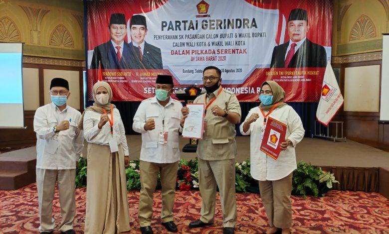 Photo of SK DPP Gerindra Resmi Dukung Pasangan Pradi-Afifa di Pilkada Depok 2020