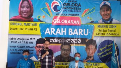 Photo of Jelang Pendaftaran Calon Wali Kota dan Wakil Wali Kota Depok, DPP Gelora Beri Kewenangan Pengurus Daerah Tentukan Arah Dukungan