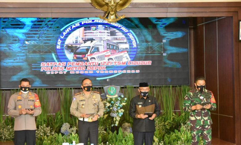 Photo of Tekan Penularan Covid-19, Polres Metro Depok Luncurkan 13 Program Berbasis Online