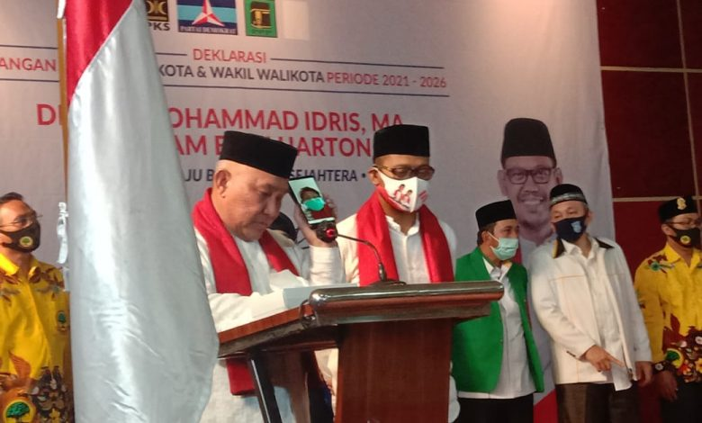 Photo of Ada Tangisan dalam Deklarasi Pasangan Idris- Imam