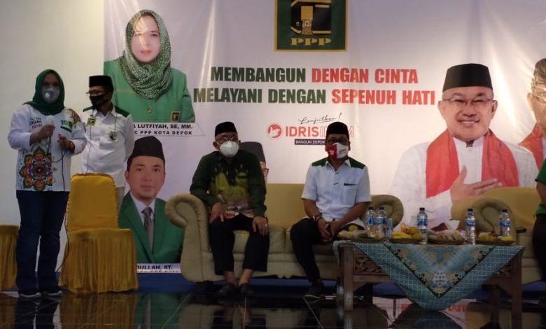 Photo of Menangkan Pasangan Idris-IBH, PPP Depok Perkuat Konsolidasi Internal