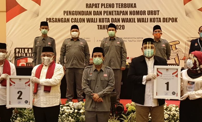 Photo of Mohammad Idris-Imam Budi Hartono dapat Nomor Urut 2, Pradi Supriatna-Afifah Alia Nomor 1