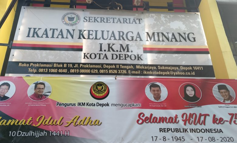 Photo of 400.000 Warga Minang di Depok Dukung Calon Wali Kota Terbaik