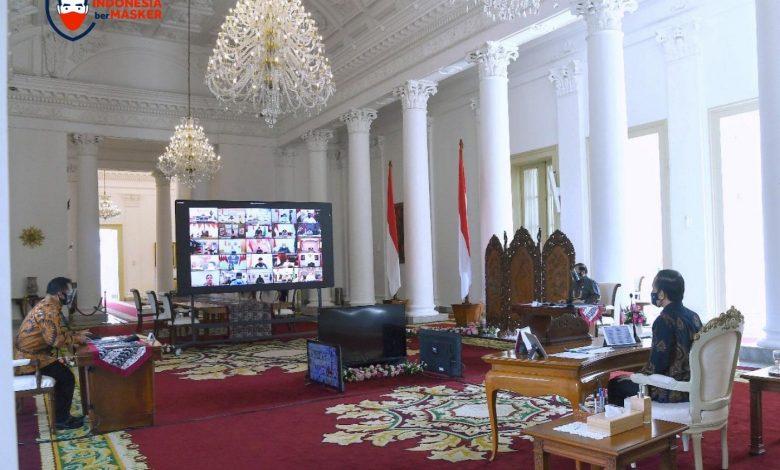 Photo of Jokowi Ingatkan Kepala Daerah Terus Bekerja Keras Kendalikan Covid-19