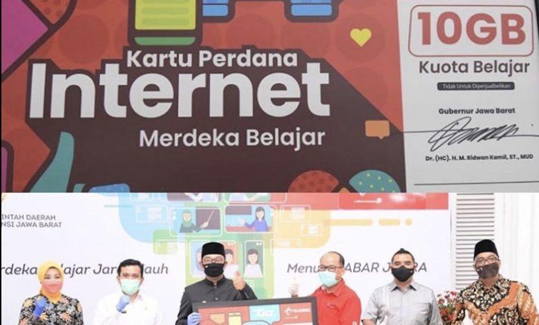 Photo of Pemprov Jabar Gandeng Telkomsel Bagikan Kuota Internet 10 GB, Seluruh Siswa dan Guru Dapat Bagian