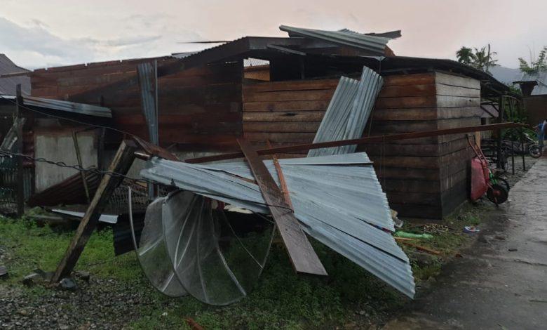 Photo of 34 Unit Rumah di Dua Kecamatan Aceh Rusak Akibat Angin Kencang