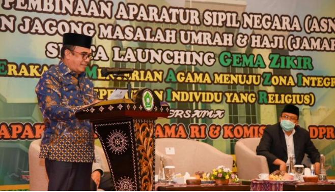 Photo of Menag Fachrul Razi Positif Covid-19