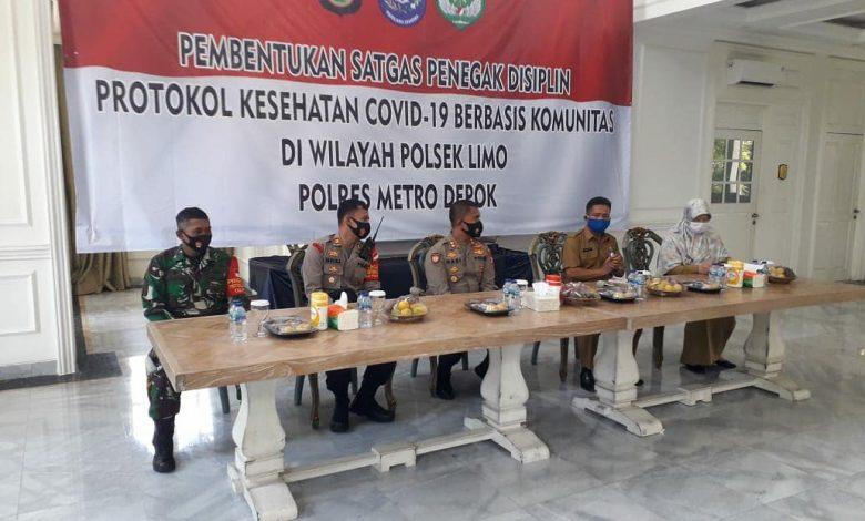 Photo of Wakapolres Metro Depok: Pencegahan Penyebaran Covid-19 Tanggung Jawab Bersama