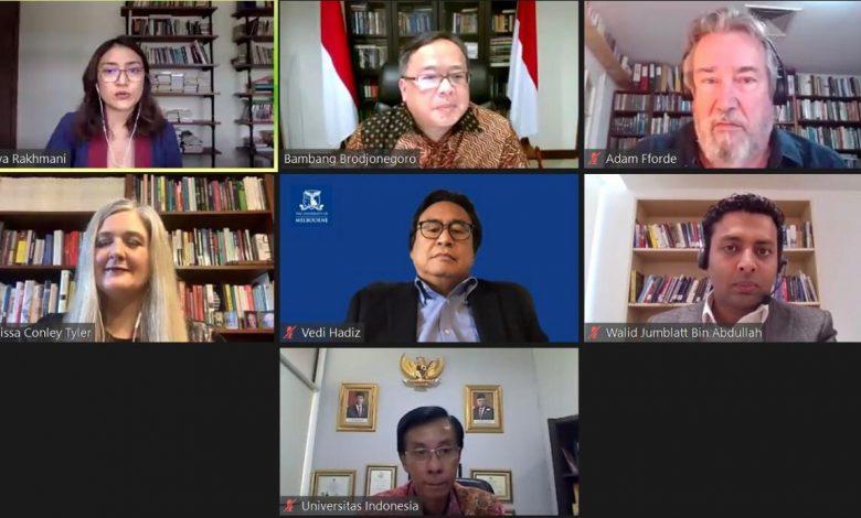 Photo of Asia Research Center UI Kaji Tata Kelola Tiga Negara di Asia Tenggara saat Hadapi COVID-19