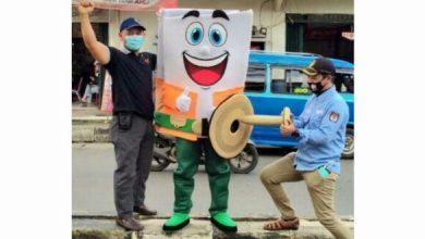 Photo of Ajak Masyarakat ke TPS, KPU Depok Bawa Duplikat Cara Pencoblosan ke Jalan Protokol