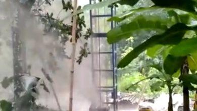 Photo of Pengeboran di Cipayung Sebabkan Semburan Air Bercampur Lumpur, Warga Panik