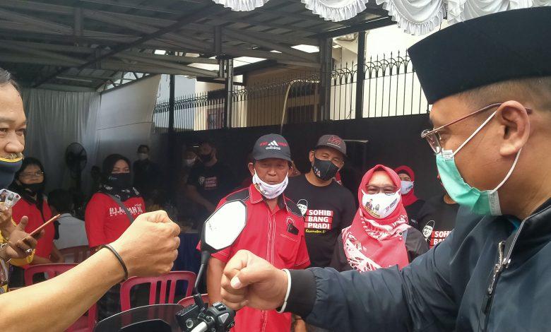 Photo of Sambangi Warga Meruyung, Pradi Supriatna Disambut Lantunan Shalawat